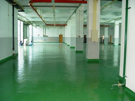 环氧平涂地坪涂装系统